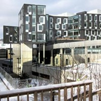 A novel of a building: Carnegie Mellon's Gates Hillman Center.