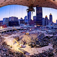A photo from David Aschkenas' <i>Arena: Remembering the Igloo</i>.
