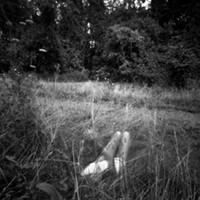 A pinhole-photography show leans toward the woods.