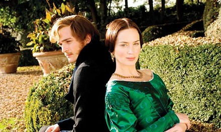 A royal pair: Prince Albert (Rupert Friend) and Queen Victoria (Emily Blunt)