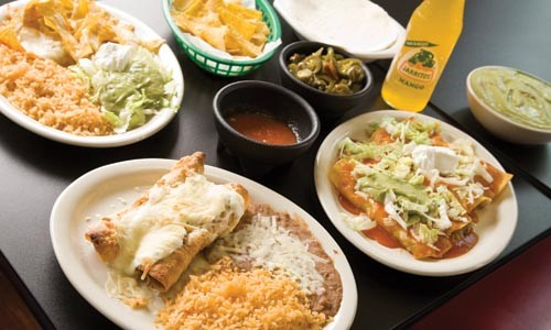 A selection of entrees from Antojitos - BRIAN KALDORF