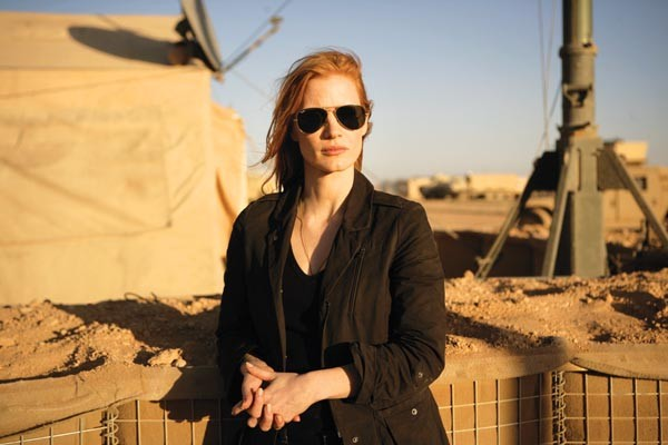 A singular focus: CIA analyst Maya (Jessica Chastain)