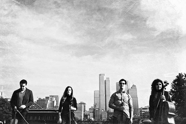 A state of symbiosis: Freya String Quartet (from left: Jason Neukom, Ashley Buckley, Jason Hohn, Katya Janpoladyan)