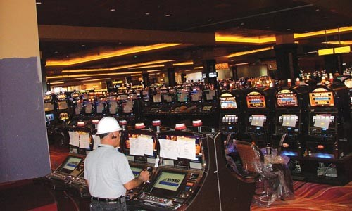 A view of the Rivers gaming floor - CHARLIE DEITCH