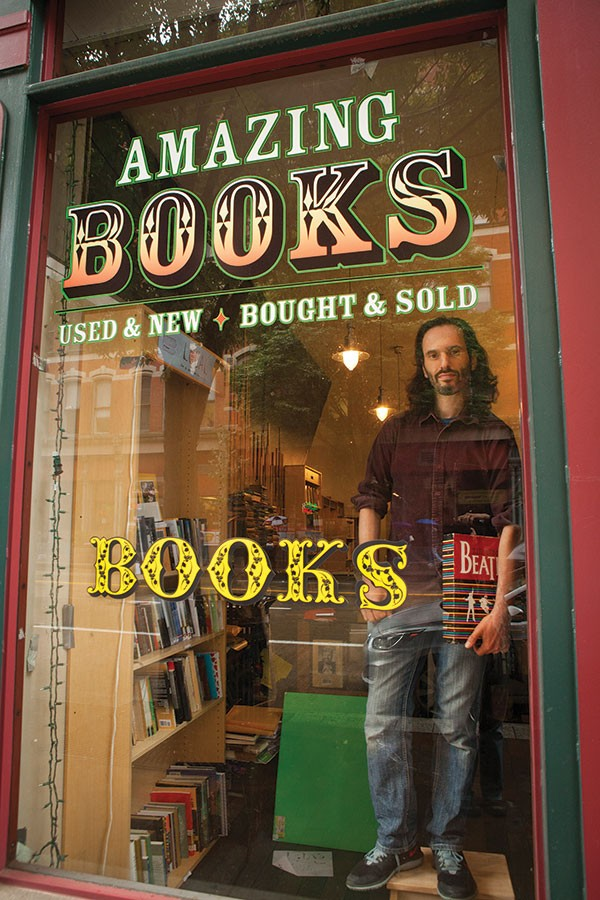 A window into reading: Amazing Books' owner Eric Ackland