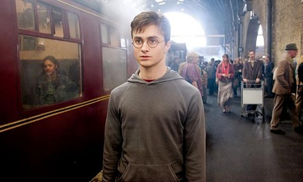 A wiz there was: Harry (Daniel Radcliffe) contemplates his station in life.