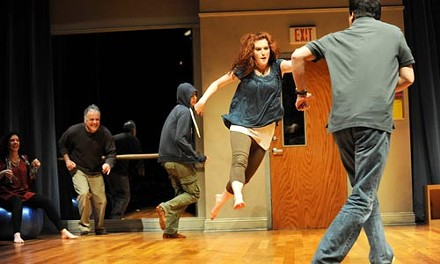 Acting up: Circle Mirror Transformation at Pittsburgh Public Theater. - PHOTO COURTESY OF PITTSBURGH PUBLIC THEATER.