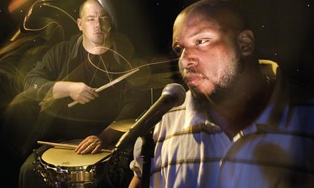 Actual music: David Throckmorton (left) and Akil Esoon of Beam. - CHAD BARTLETT