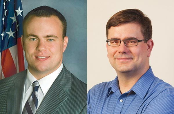 Adam Ravenstahl and Tom Michalow