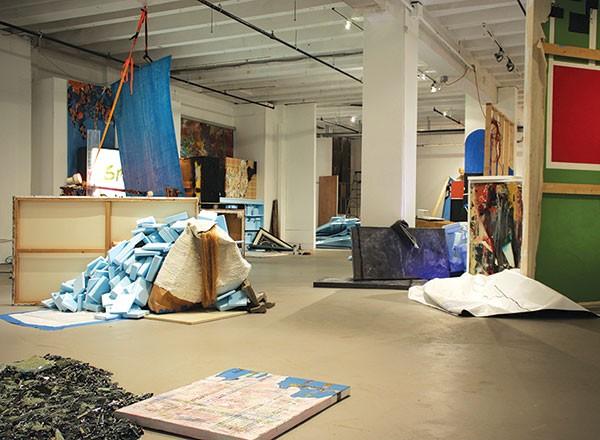 Adam Welch's installation Terminal Moraine.