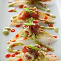 Social Ahi tuna nachos Photo by Heather Mull