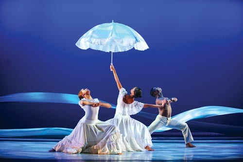 "Ailey II performs ""Revelations."" - PHOTO COURTESY OF EDUARDO PATINO, NYC"