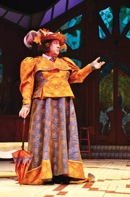 Alan Stanford in PICT's The Importance of Being Earnest. - PHOTO COURTESY OF SUELLEN FITZSIMMONS