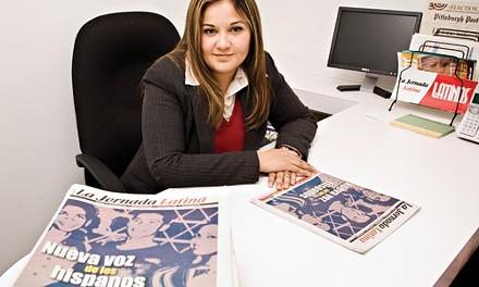 Alejandra Quezada-Crowder is the director of Pittsburgh's new Spanish language newspaper, La Jornada Latina. - BRIAN KALDORF