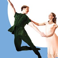 Alexandra Kochis and Christopher Budzynskiin Pittsburgh Ballet's <i>Peter Pan</i>