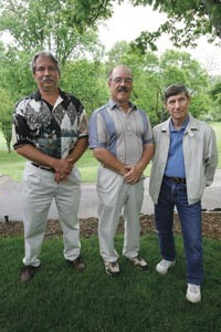 Allegheny Technologies retirees Jeff Rea, Joe George and Stephen Smarick - HEATHER MULL