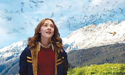 Almost heaven: Susie (Saoirse Ronan) enjoying time in that space in-between