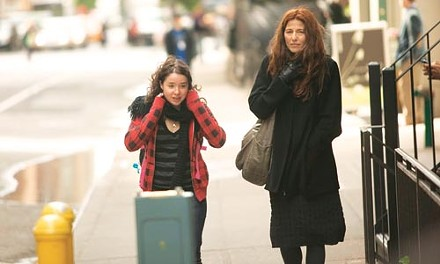 Alone, but in a crowd: Sarah Steele and Catherine Keener