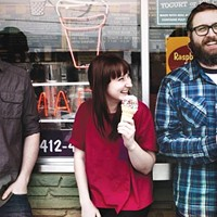 Always get the sprinkles: Donora (from left: Jake Churton, Casey Hanner, Jake Hanner)
