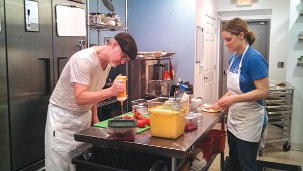 Amazing Café chef Mark Staley