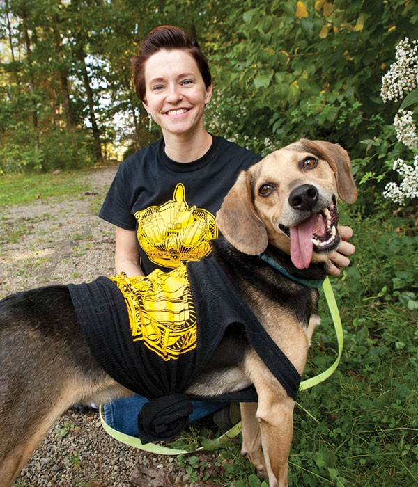 Amy Dukes, adoption coordinator for Best of Pittsburgh Winner Animal Friends