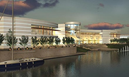 An artist's rendering of the North Side Majestic Star Casino