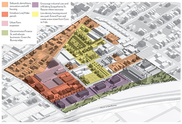 An image from Operation Better Block's Homewood cluster planning report