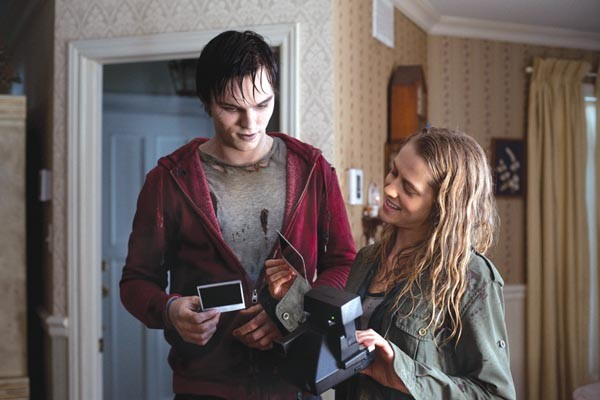 An unlikely couple: Nicholas Hoult and Teresa Palmer