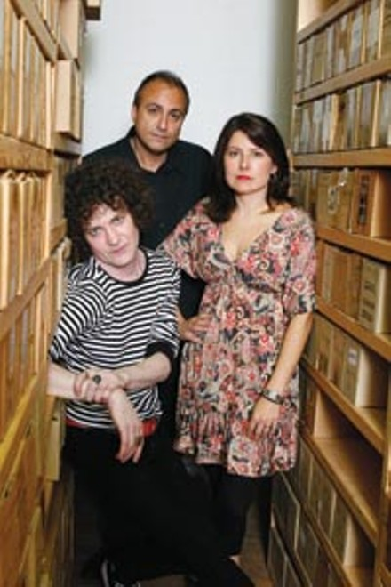 An unlikely triumvirate: Michael Kastelic, Gregg Kostelich and Barbara Garcia-Bernardo - HEATHER MULL
