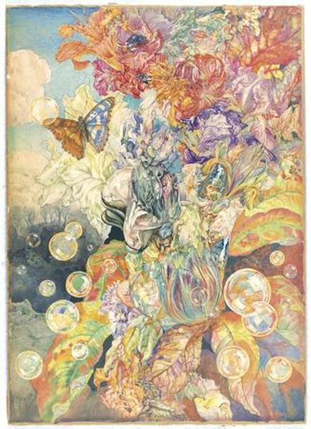 "Andry Avinoff's ""Iridescence."" - IMAGE COURTESY OF CARNEGIE MUSEUM OF ART"
