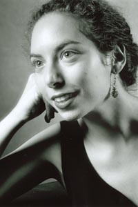 Anna Levenstein, performing with Chatham Baroque