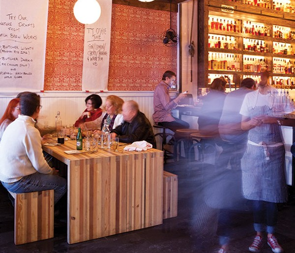 Another night of food, booze and fun at Butcher and the Rye