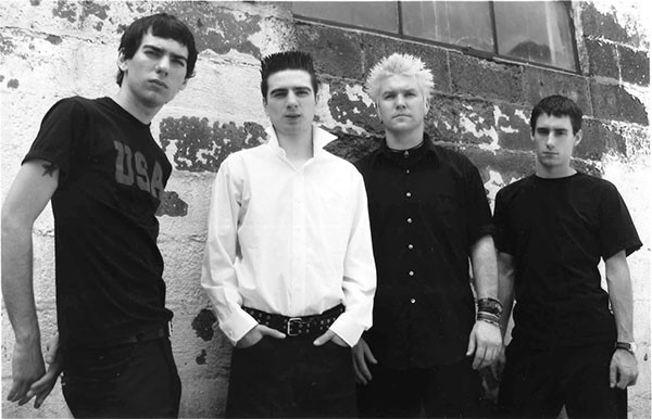 Anti-Flag around the time Underground Network was released in 2001