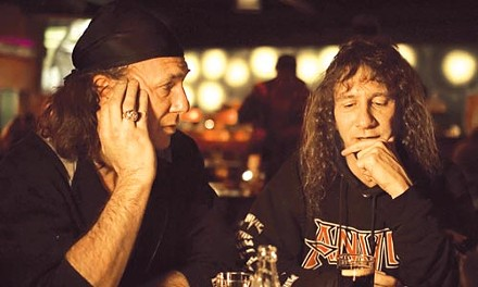 Anvil's never-say-die thrashers Robb Reiner and Lips Ludlow - PHOTO BY BRENT J. CRAIG