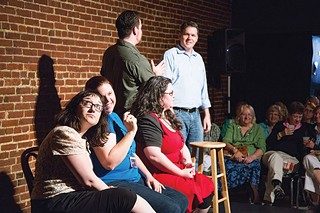Arcade Comedy Theater's monthly Hootenanny show