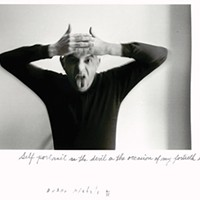 Art by Duane Michals, courtesy of The Henry L. Hillman Fund, at <i>Storyteller: The Photographs of Duane Michals</i>, Nov. 1-March 2, at the Carnegie Museum of Art