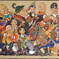Painter and illustrator Arthur Szyk's obsession with Nazism fascinates.