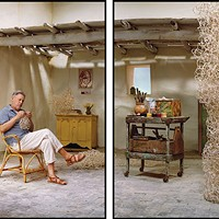 "Artifice as impersonation: Rodney Graham's ""Pipe Cleaner Artist, Amalfi, '61"" (2013)."
