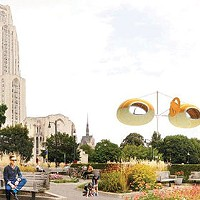 A lauded green-art initiative hits a roadblock in Schenley Plaza