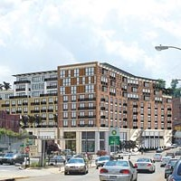 Project planners and the public meet to discuss proposed new development in Squirrel Hill
