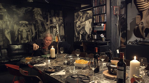 A scene from the upcoming film Dark Star: H.R. Giger's World, distributed by Icarus Films