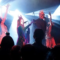 Faith and the Muse brings their dark spectacle to Fate Lounge