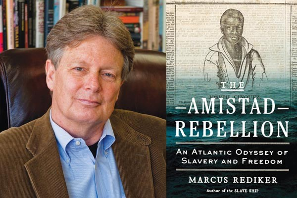 Author and historian Marcus Rediker