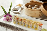 Avalanche roll and soup dumplings