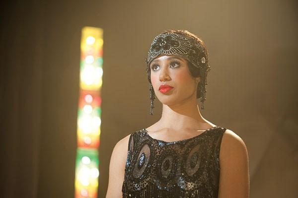 Back in time: Margot Bingham as Daughter Maitland on Boardwalk Empire