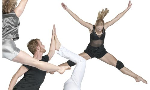 """Beat it: Dance Alloy Theater performs David Parker's """"After the Beat."""" Photo courtesy of Frank Walsh."""