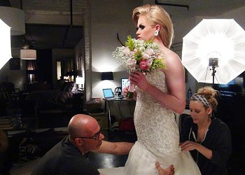 Behind-the-Scenes of <i>CP</i>'s 2015 Wedding Issue Cover