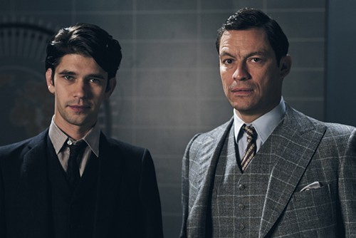 Ben Wishaw and Dominc West