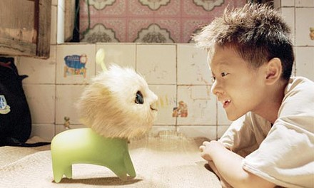Best friends forever: CJ7 and Dicky (Jiao Xu)