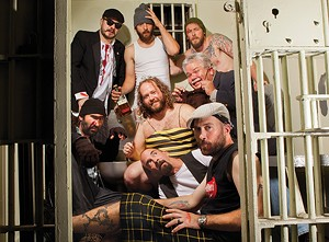 Best Pop-Rock Band Bastard Bearded Irishmen take Rick Sebak out on the town